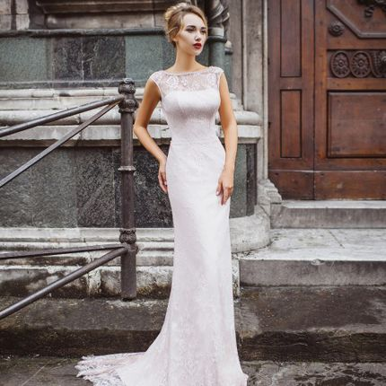Свадебное платье в аренду, модель А984
