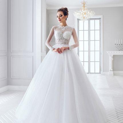 Свадебное платье в аренду, модель А985