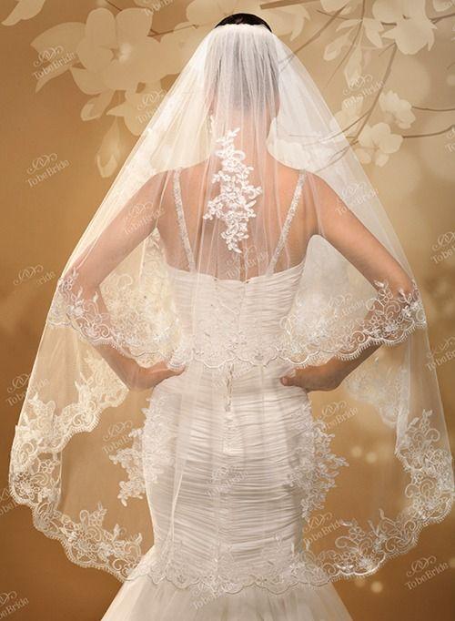 Свадебная фата А1041. Покупка НОВОЙ 3.500р. Прокат свадебных платьев от 1.900 р до 14.500р на три дня. Есть отдельно ряд платьев для проката! - фото 15495928 Свадебный салон InLove