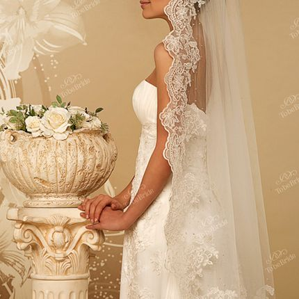 Свадебная фата, арт.1047