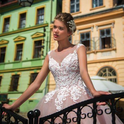 Роскошное свадебное платье, арт. 1061