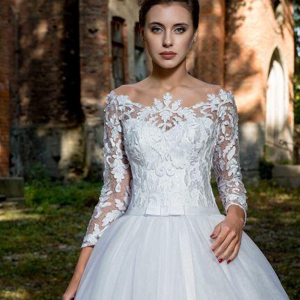 Элегантное свадебное платье, арт. 1065