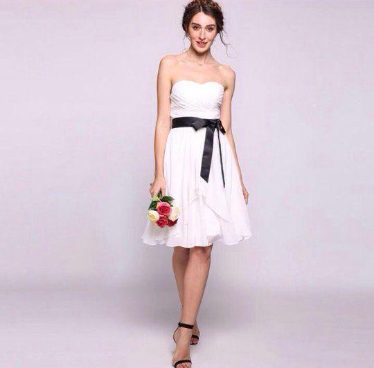 Короткое свадебное платье, арт. 1080