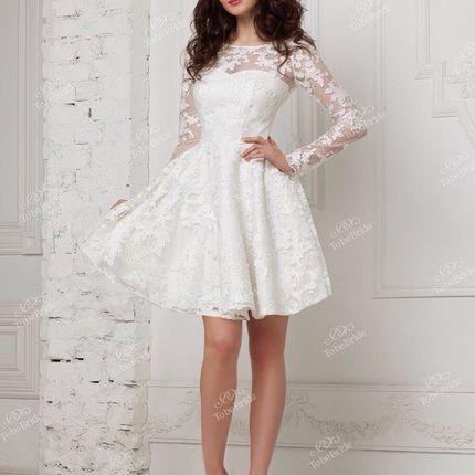 Короткое свадебное платье, арт. А1093