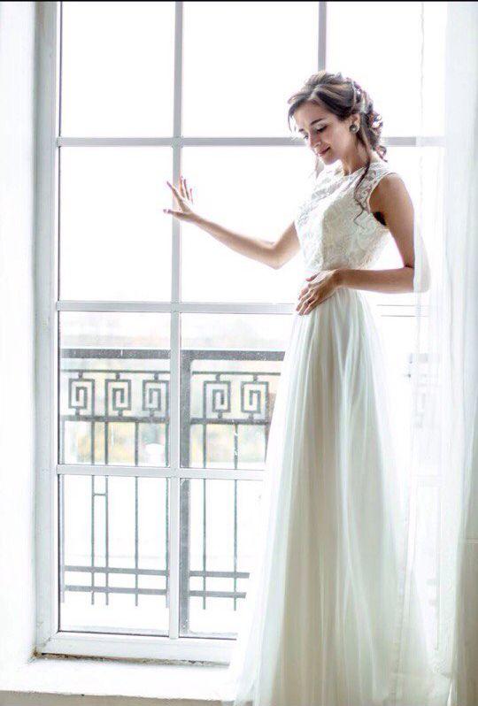 Свадебное платье для невесты в положении, арт. А1125