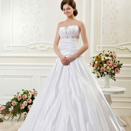 Свадебное платье А-силуэта, арт. А1131