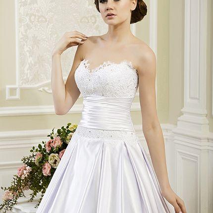 Свадебное платье А-силуэта А1167
