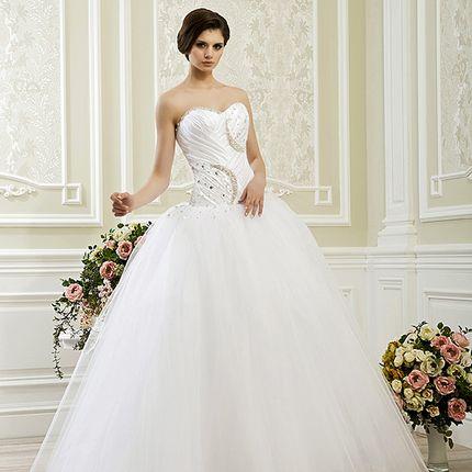 Пышное свадебное платье А1176