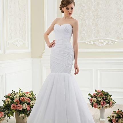 Свадебное платье силуэта русалка А1198