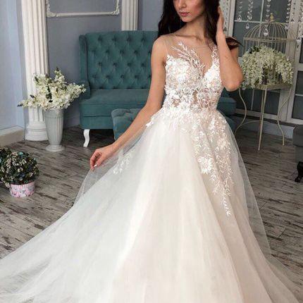 Свадебное платье пышное А1244