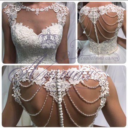 Свадебное платье пышное А1300