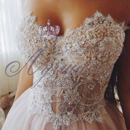 Свадебное платье пышное А1329