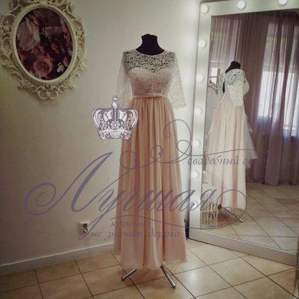 Платье в стиле ампир А1330 прокат