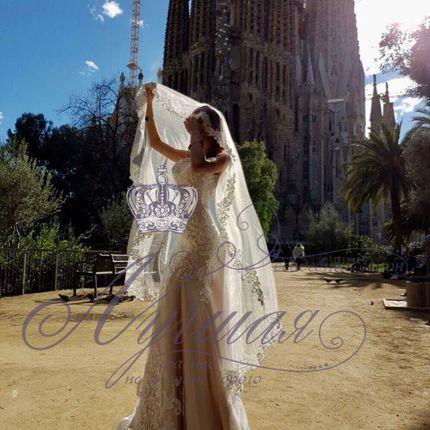Свадебное платье русалка А1356