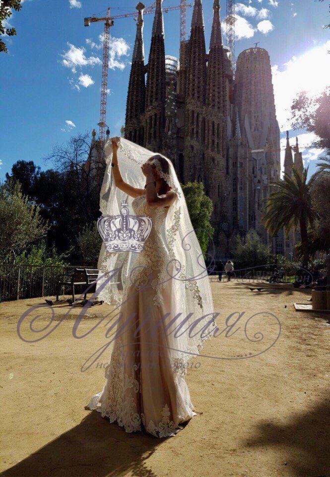 Свадебное платье А1356. Покупка НОВОГО 22.500р. Прокат свадебных платьев от 1.900 р до 14.500р на три дня. Есть отдельно ряд платьев для проката! - фото 17687936 Свадебный салон InLove