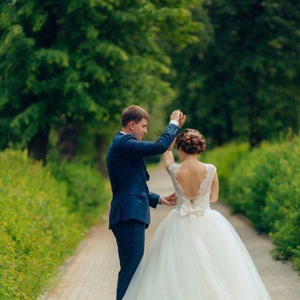 Свадебное платье пышное А1415