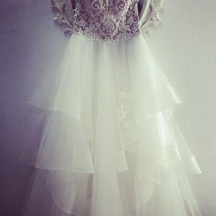 Свадебное платье пышное А1430