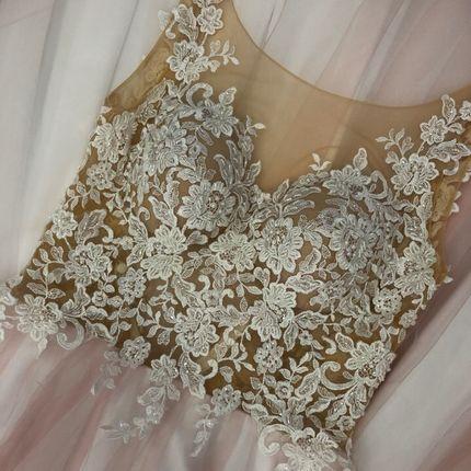 Платье со шлейфом А1448