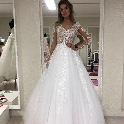 Платье пышное А1480