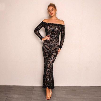 Вечернее платье силуэта рыбка А1504 прокат