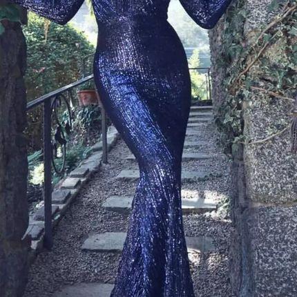 Вечернее платье силуэта рыбка прокат А1513