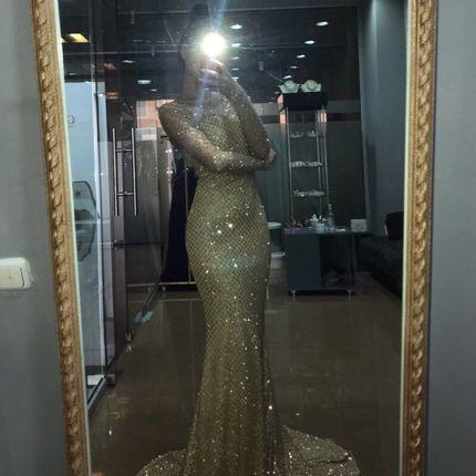 Прокат вечернего платья силуэта рыбка А1533