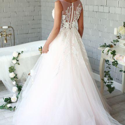 Платье со шлейфом прокат А1579