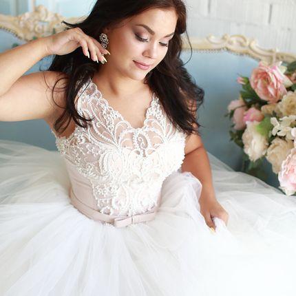 Платье пышное А1582