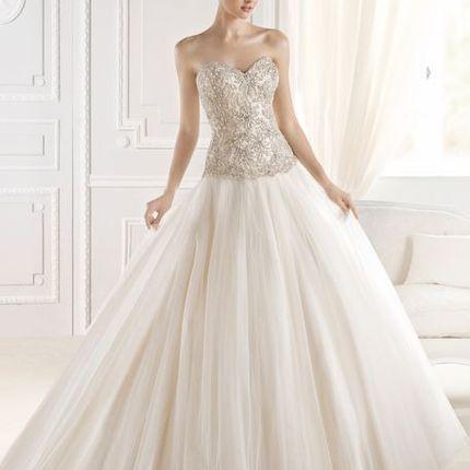 Платье А-силуэта А1588