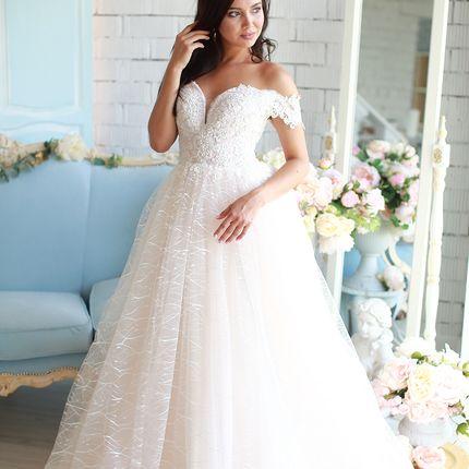Платье пышное А1599