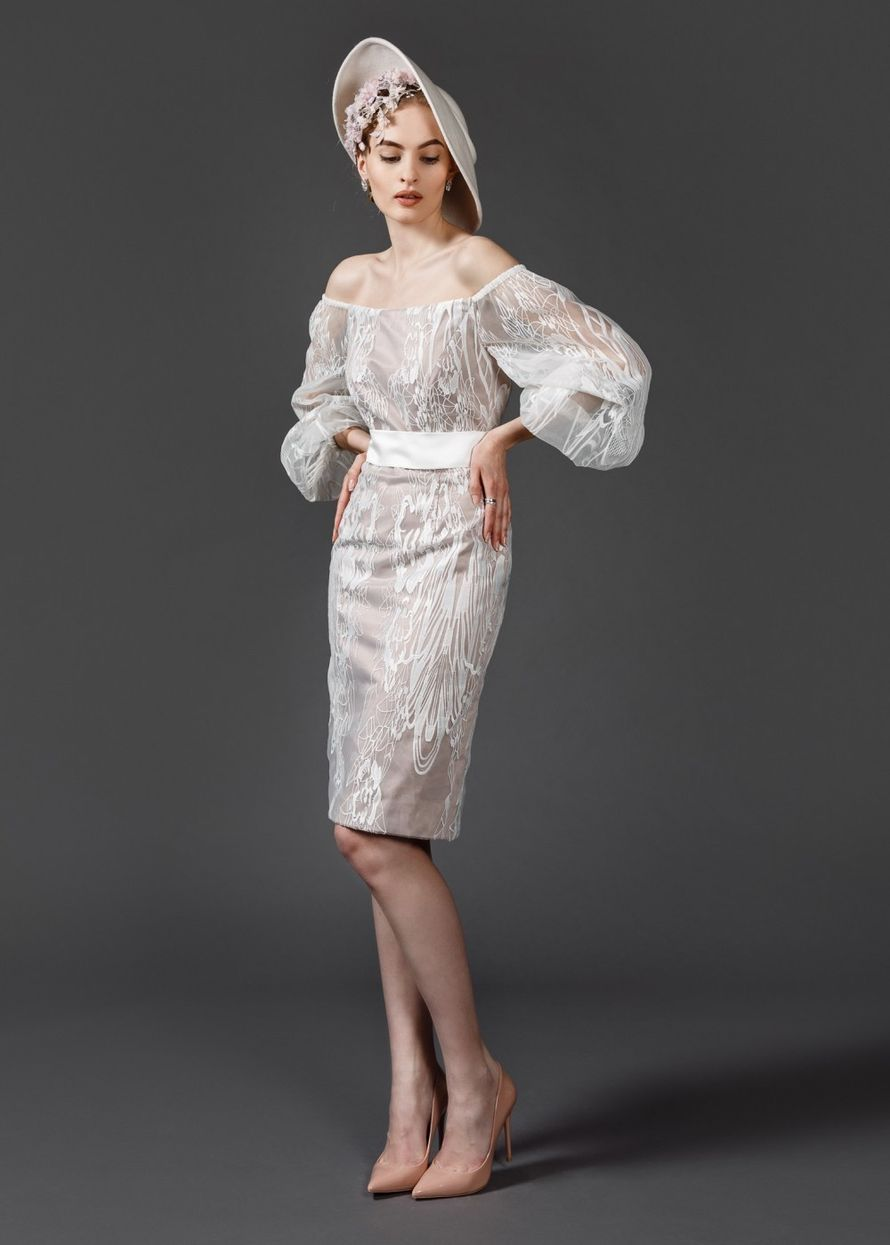 Короткое платье А1619