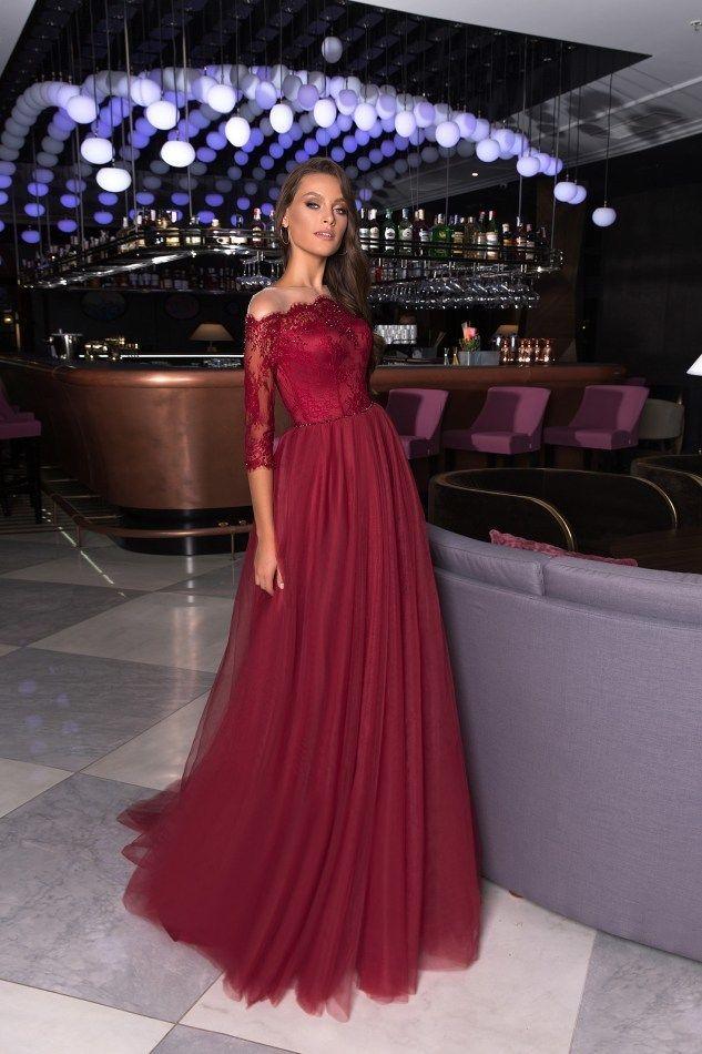 Платье длинное А1632
