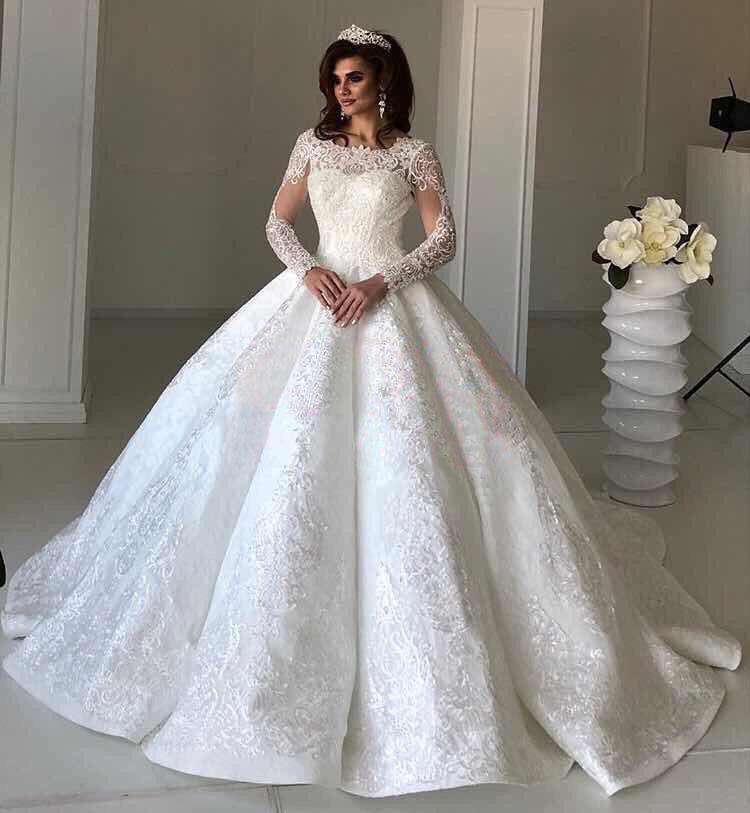 Платье со шлейфом А1643
