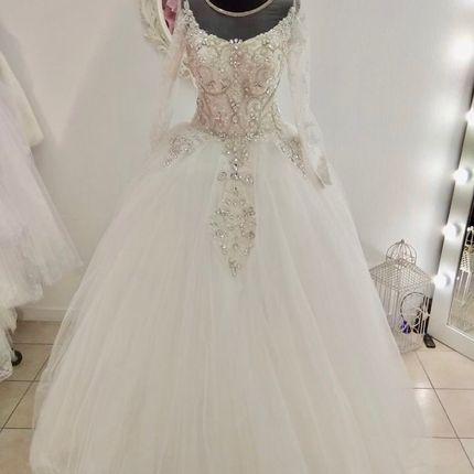 Платье пышное А1661
