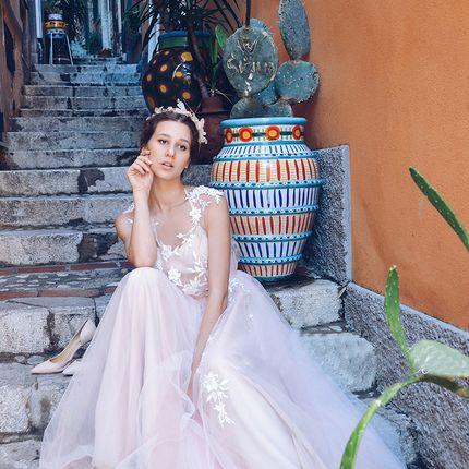 Свадебное платье-трансформер, А1704