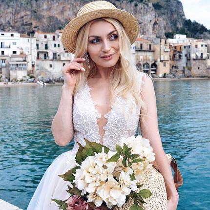 Свадебное платье А-силуэта А1717
