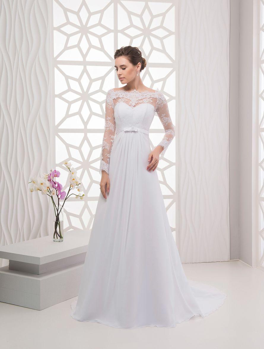 Платье А-силуэта А1764
