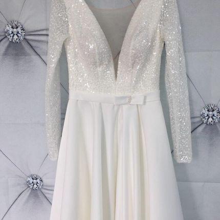 Платье с рукавами А1804