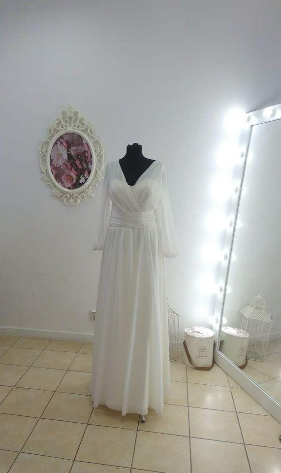 Платье с рукавами А1807