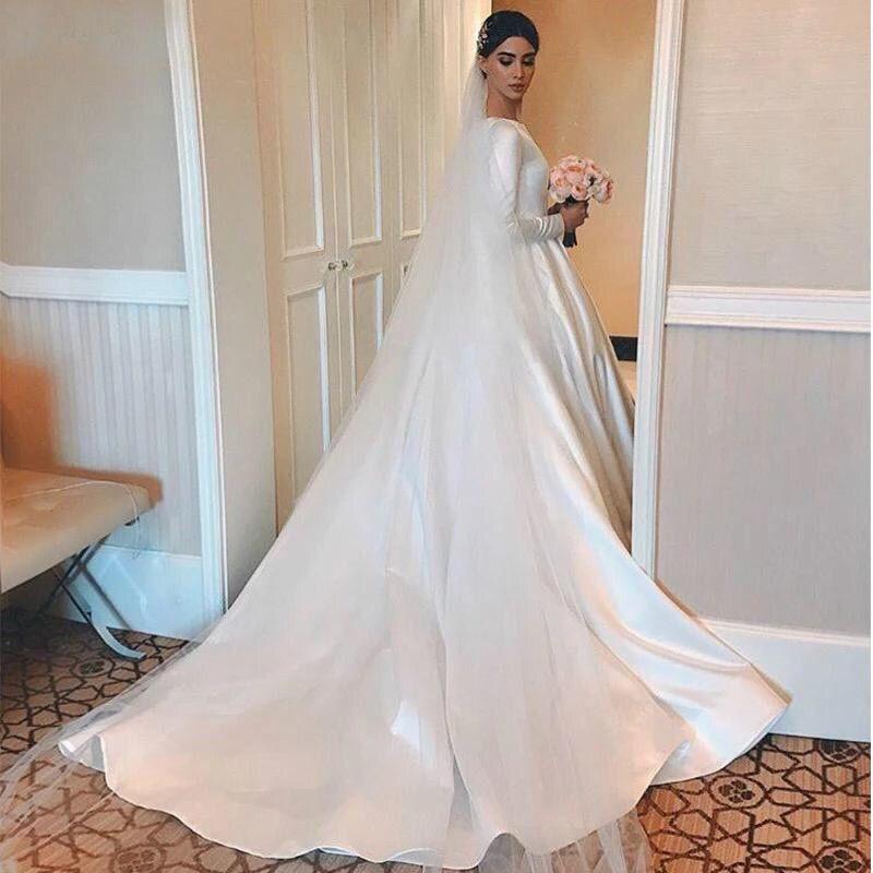 Платье со шлейфом А1856