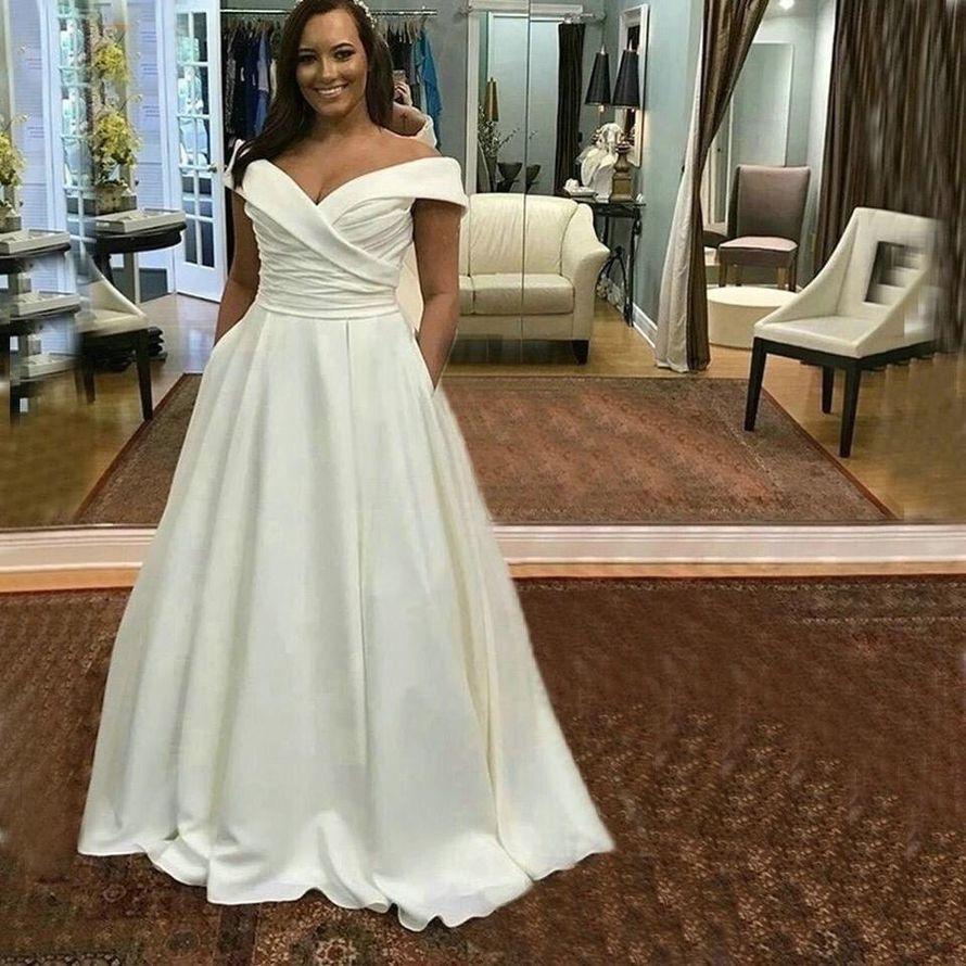 Платье атласное прокат А1862