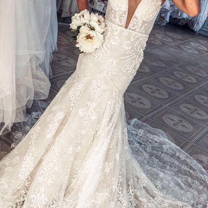 Свадебное платье А1901