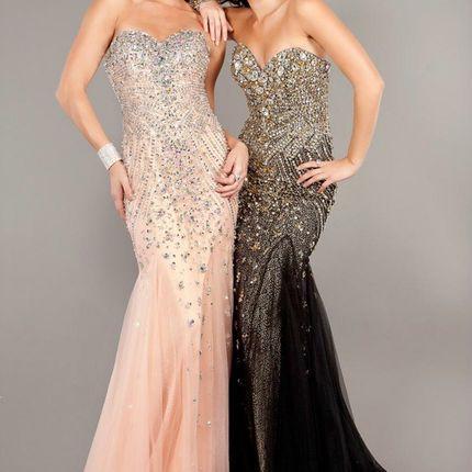 Вечернее платье A2063 прокат