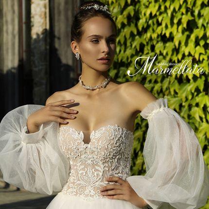 Свадебное платье А2102