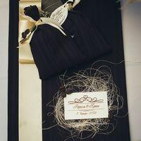 Обложка для свидетельства о браке и  мешочки с кофе - комплимент гостям