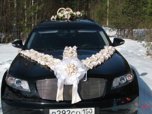 Комплект украшения на автомобиль так же можно взять на прокат - фото 12587 Невеста01