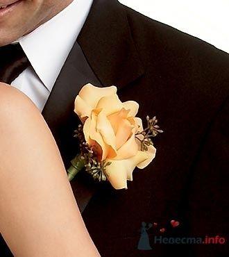 Фото 19784 в коллекции Букет невесты и бутоньерка - Невеста01