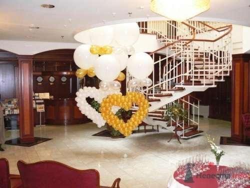 """Свадьба - воздушные шары """"летающие сердца"""" - фото 13133 74434504"""