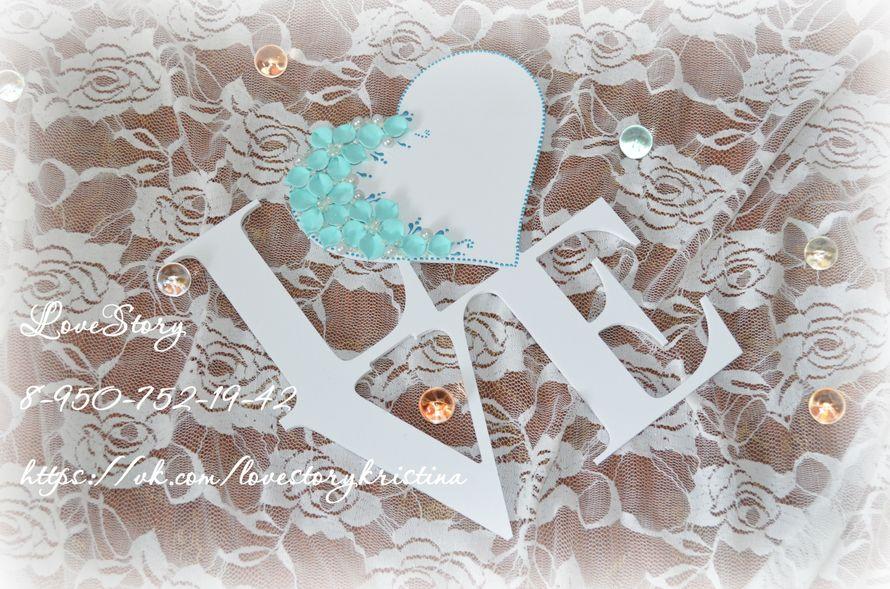 Декоративные буквы для фотосессии - фото 4425539 Студия аксессуаров Кристины Тишковой