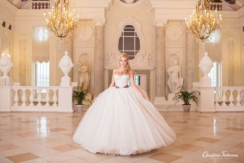 Свадебные платья очень красивые пышные